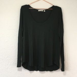 Wilfred Free aritzia M scoop neck long sleeve tee